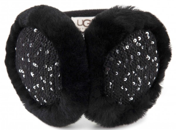 Sequined ear muffs
