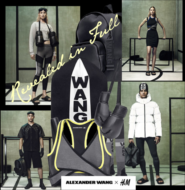 Alexander Wang x H&M Revealed in Full