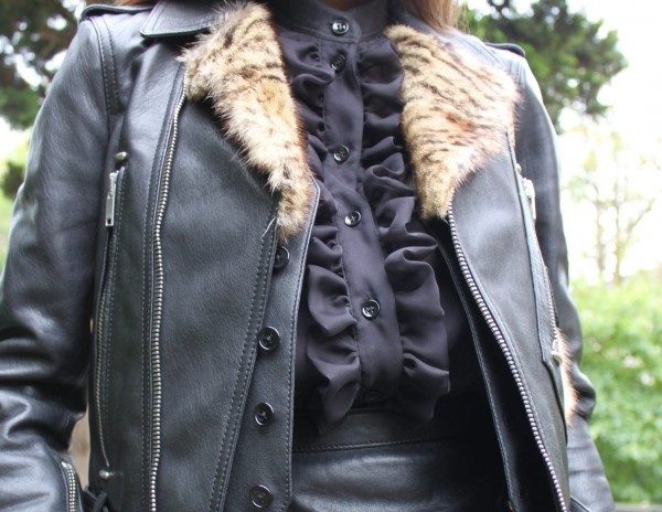Biker Jacket and vest by Saint Laurent