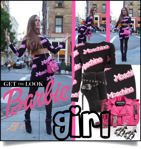 Cover-Sandra Bauknecht in Moschino Barbie Style