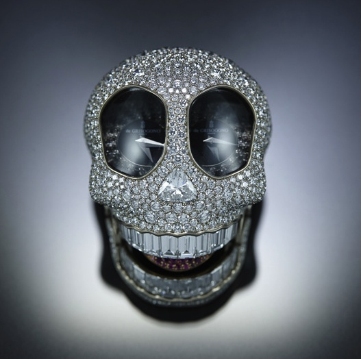 De Grisogono Crazy Scull Watch