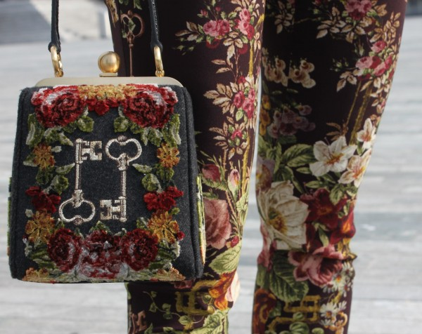 Dolce & Gabbana Pants and Bag FW2014
