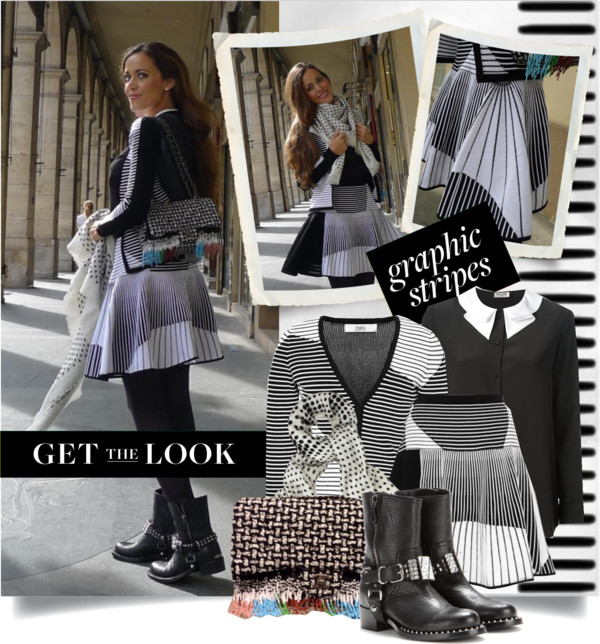 Get the Look- Graphic Stripes-Sandra Bauknecht