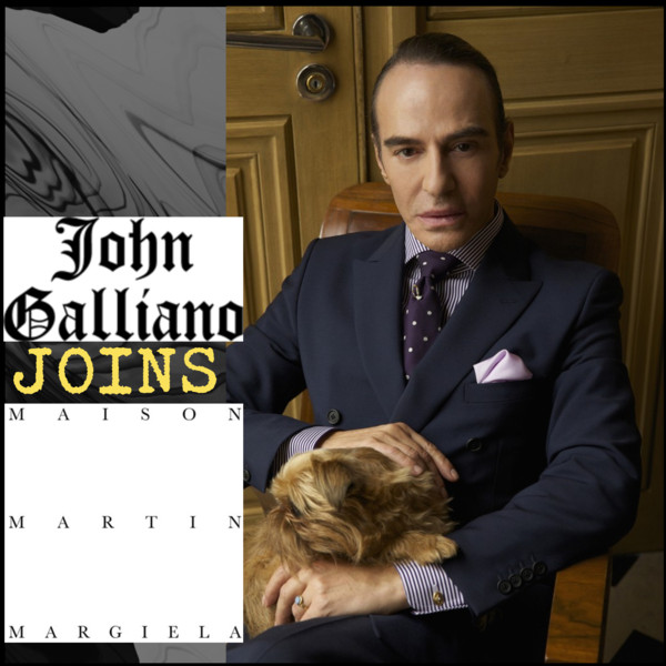 John Galliano Joins Maiosn Martin Margiela