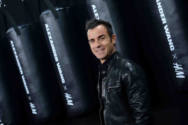 Justin Theroux at wang x H&M