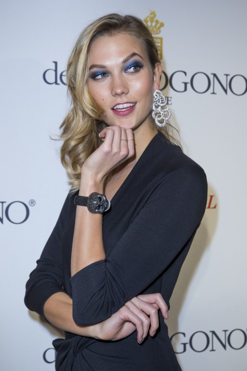 Karlie Kloss wearing de Grisogono jewellery