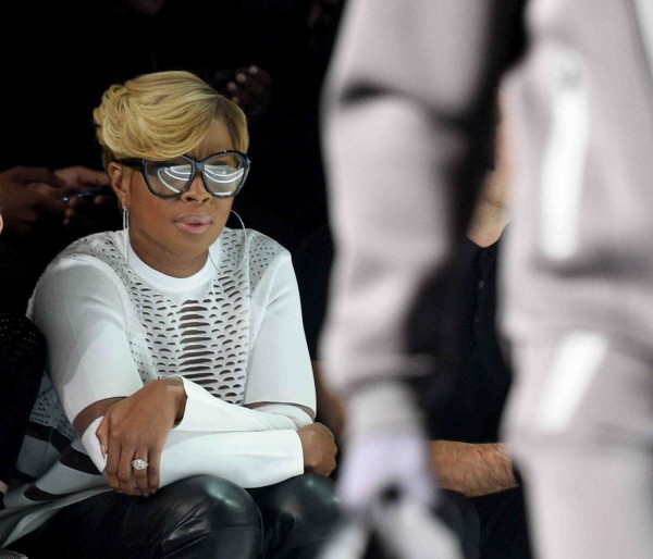 Mary J Blige at Wang x H&M