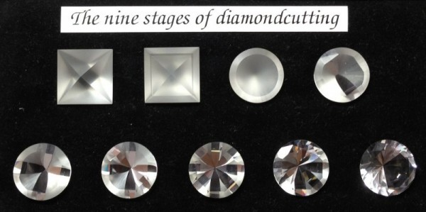 Nine Stages of Diamond Cutting-Vainard