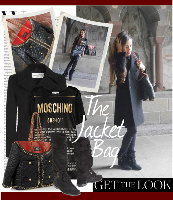 The Jacket Bag by Moschino - Sandra Bauknecht