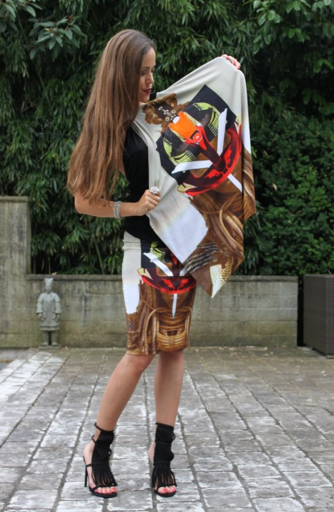 k-Sandra Bauknecht in Givenchy Tribal Outfit 1