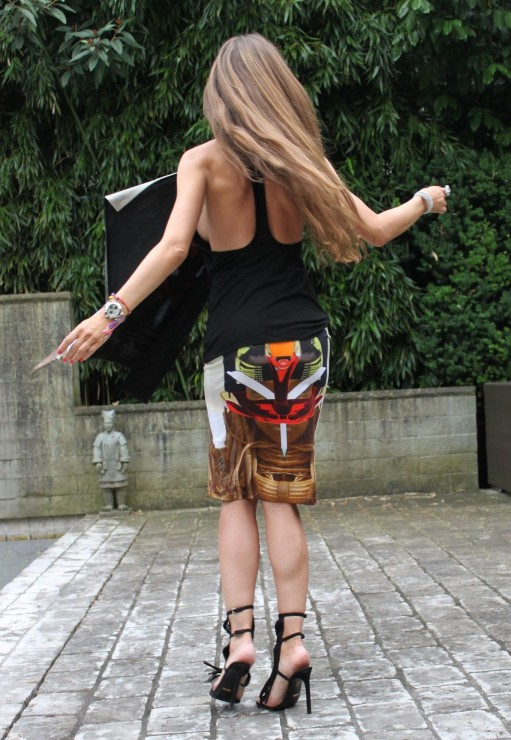 k-Sandra Bauknecht in Tribal Givenchy 12