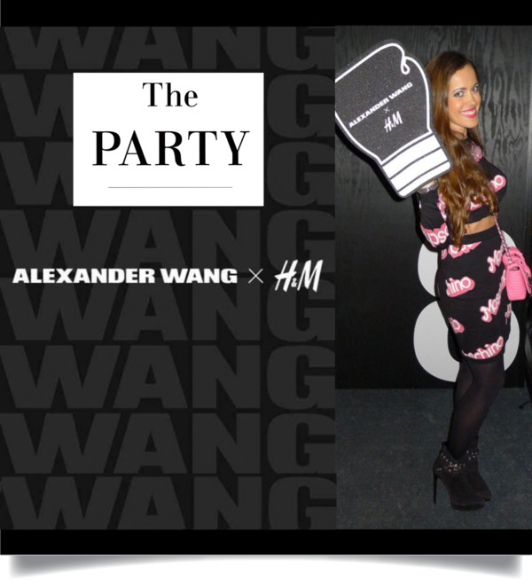 Alexander Wang x H&M The Party-Sandra Bauknecht