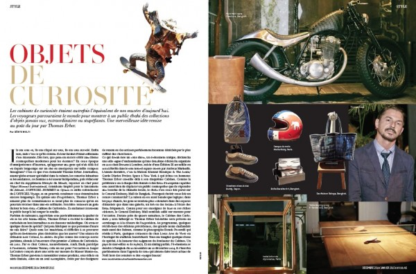 Cabinet des Curiosities in L'Officiel Switzerland