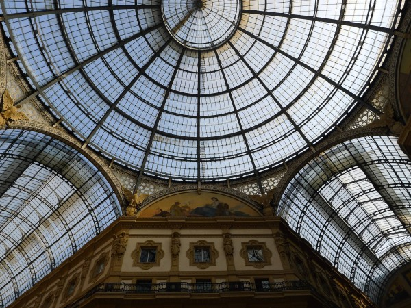Galleria in Milano in Italy