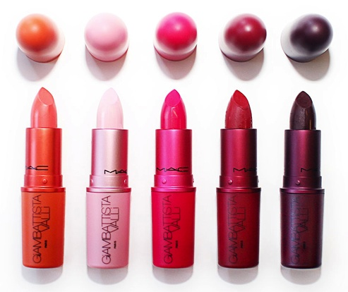 Lipsticks MAC Giambattista Valli