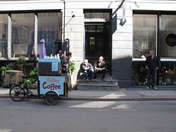 Mads and Mikkels favourite coffee cart.