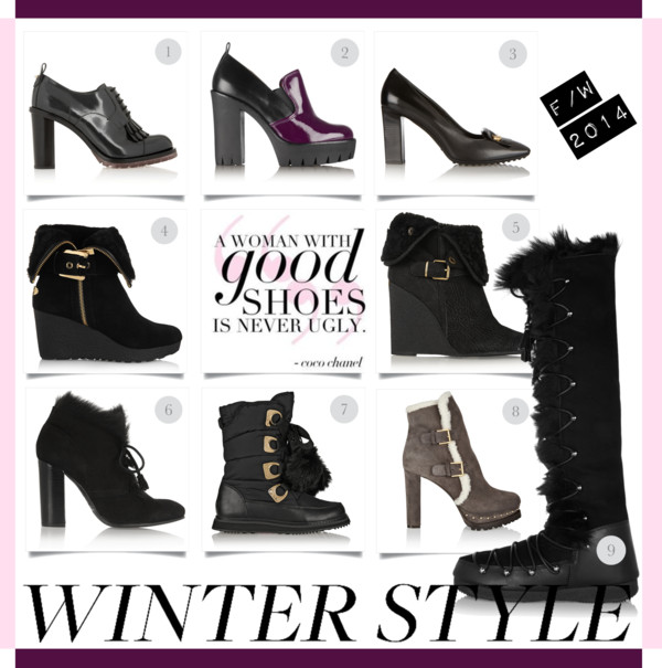 Winter Style-Winter Shoes FW2014