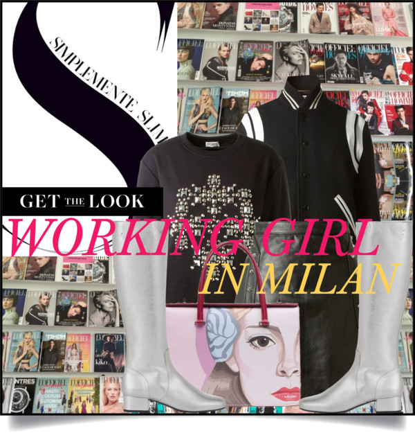 Working Girl in Milan
