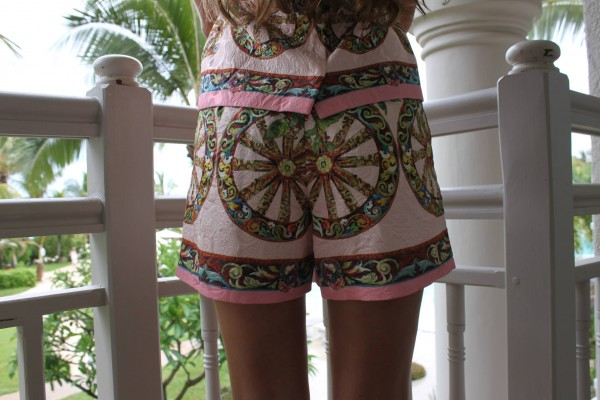 Back Dolce Gabbana Shorts