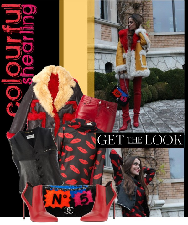 Colourful Shearling - Sandra Bauknecht