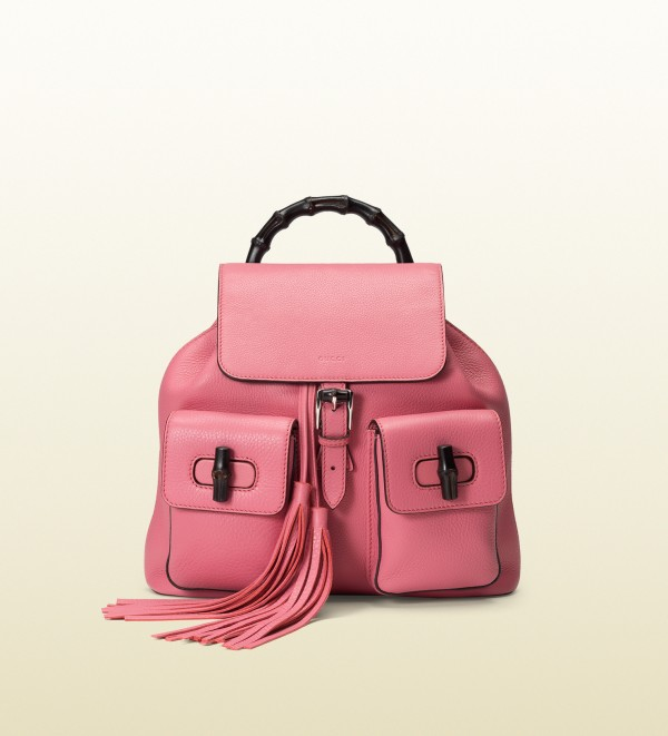 Gucci Womens Backpack - raspberry pink