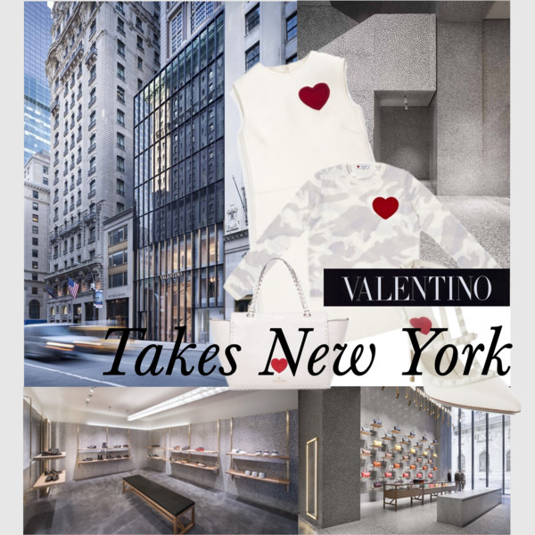 Valentino Takes New York