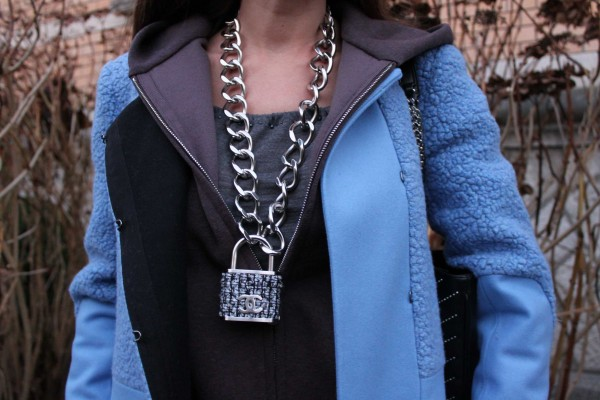 Close up Chanel Necklace Chain