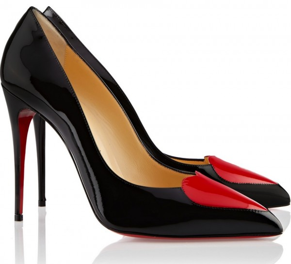 Louboutin heart pumps