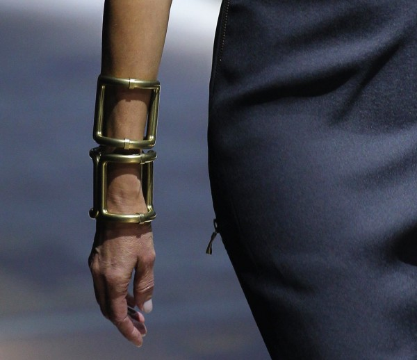 Stacked cuffs by Lanvin SS15