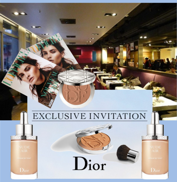 Cover Dior Event Jelmoli