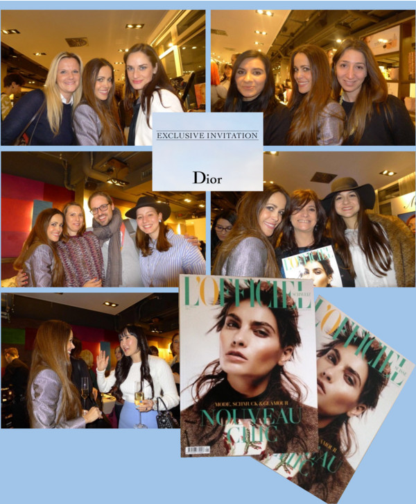 Readers L'Officiel Dior Event with Sandra Bauknecht