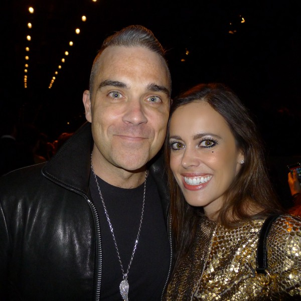 Robbie Williams-Sandra Bauknecht