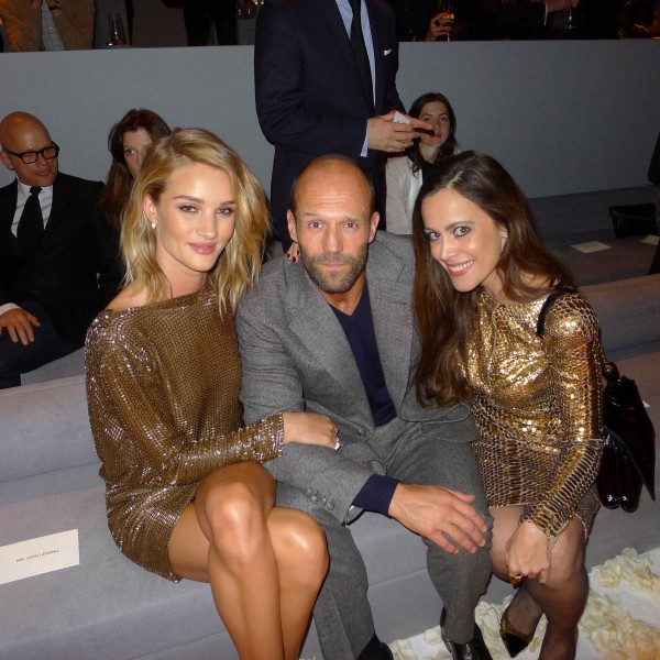 Rosie Huntington-Whiteley & Jason Statham-Sandra Bauknecht