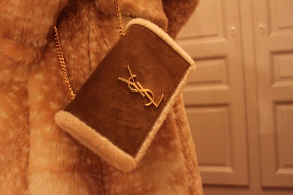 Saint Laurent Bag Shearling