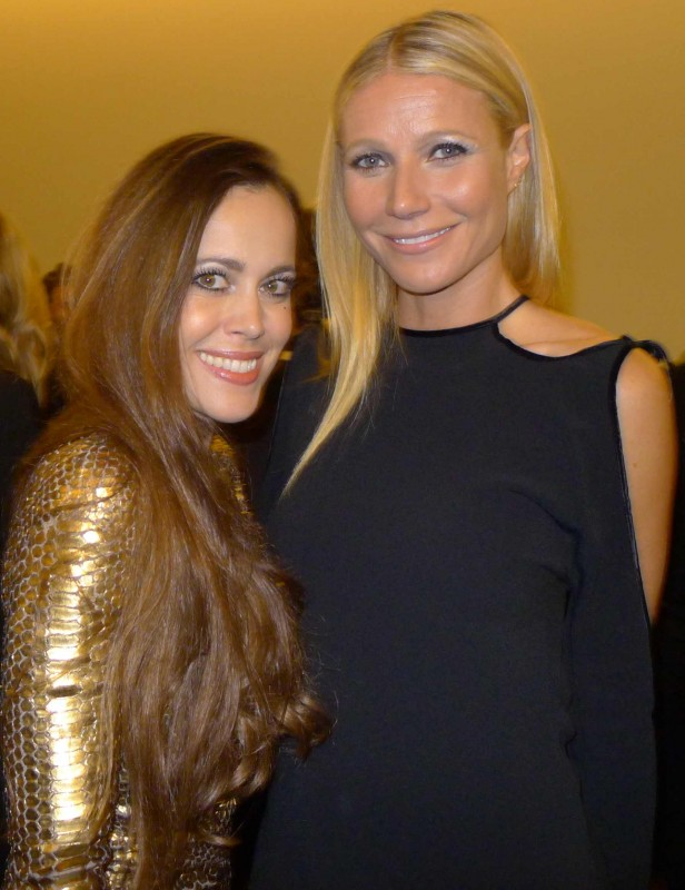 Sandra Bauknecht and Gwyneth Paltrow