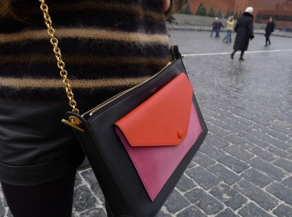 Céline Bag Red Square