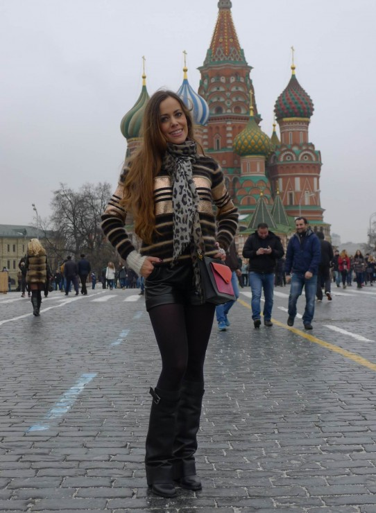 Sandra Bauknecht in Moscow 2