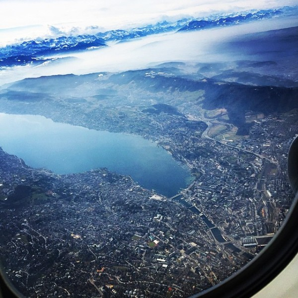 Zurich from above