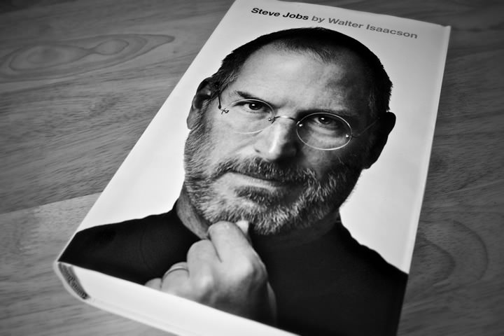 I like to read BOOKS ABOUT PEOPLE, to see how they tick, what makes them successful. I read for example the books about Steve Jobs, Oprah Winfrey and ... - steve_jobs_by_walter_isaacson-Book
