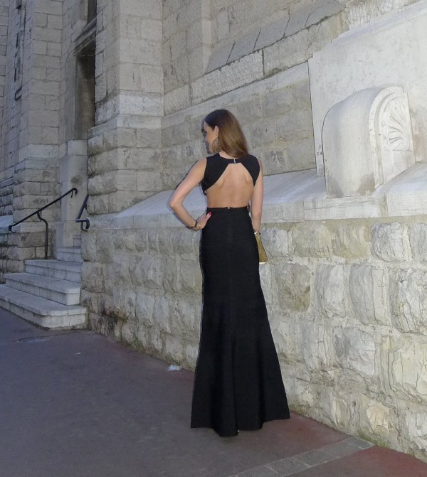 HerVé_Leger_Sandra_Bauknecht_Black_Dress