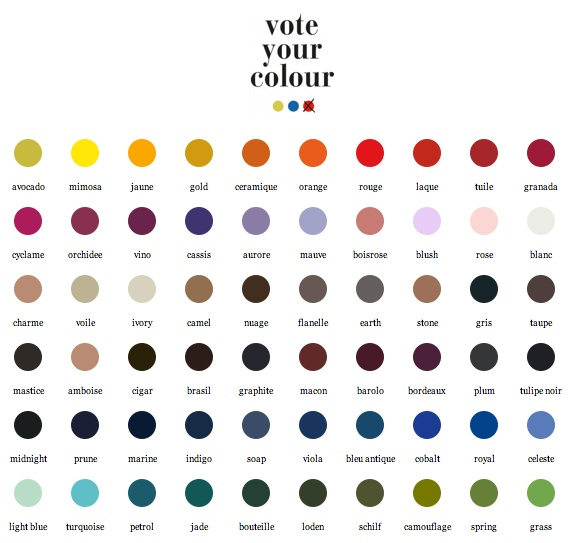 Vote your colour