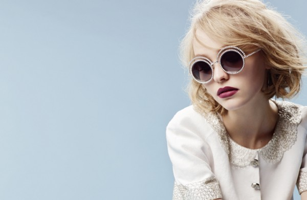 Eyewear - The Pearl collection - Ad campaign by Karl Lagerfeld-1