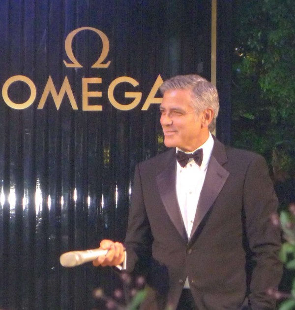 George Clooney Speech Omega Shanghai Event