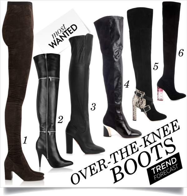 0307a2a0045 Must-Have F W 2015  Over-the-Knee Boots