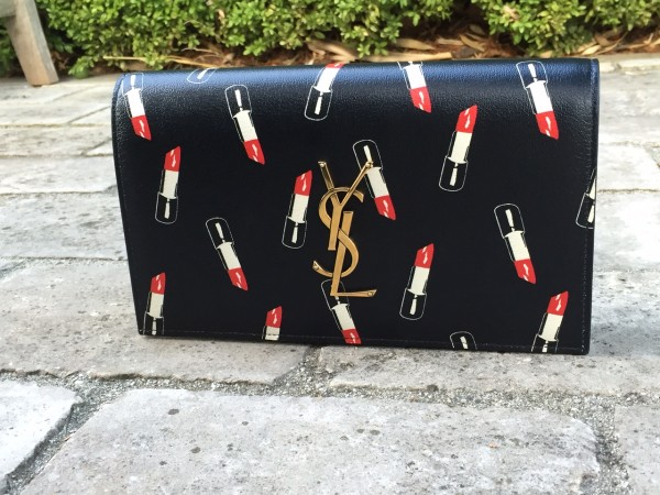 Saint Laurent Lipstick Clutch