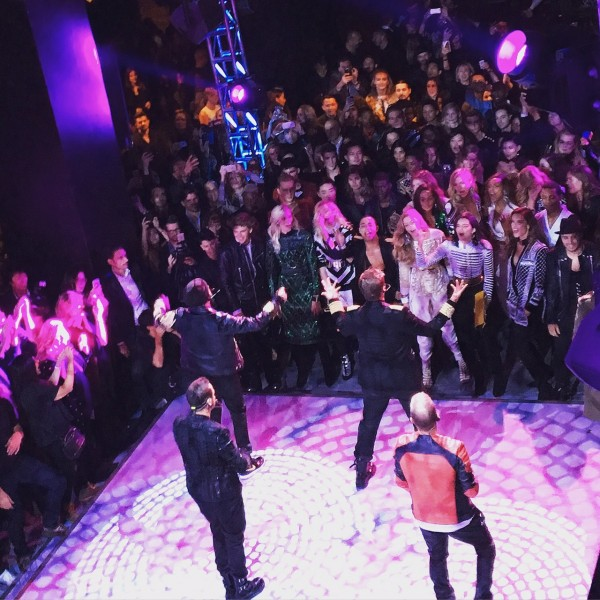BackstreetBoys Perform in front of the ALISt Crowd