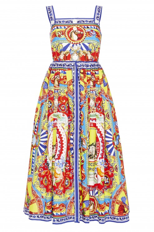 Dolce & Gabbana SS16 Dress Printed Italy