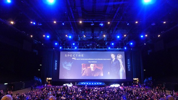 James Bond Zurich Premiere Spectre