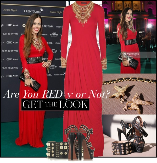 October 5th, 2015 All · Sandra`s Closet · Switzerland Tags: 11th Zurich  Film Festival, Award Night, Chanel, Jewel Embellished Stretch Crepe Gown,  ...