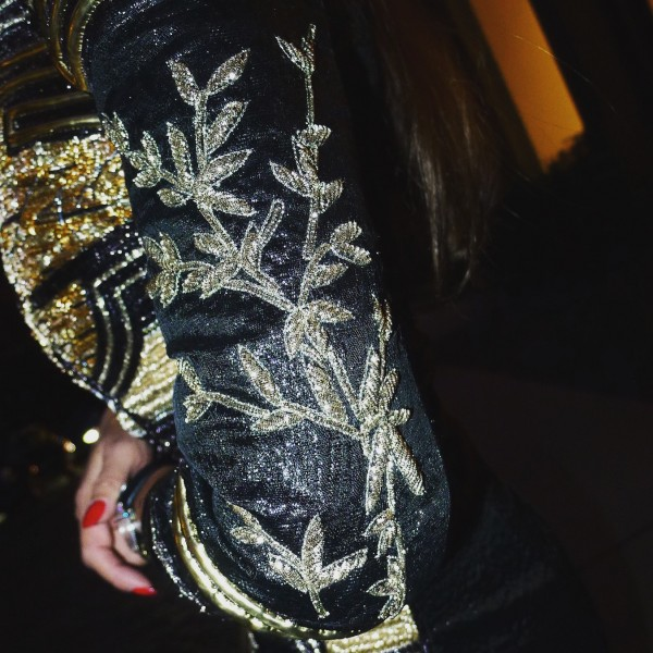 Sandra_Bauknecht_Balmain_Embroidered_Dress_NYC-5